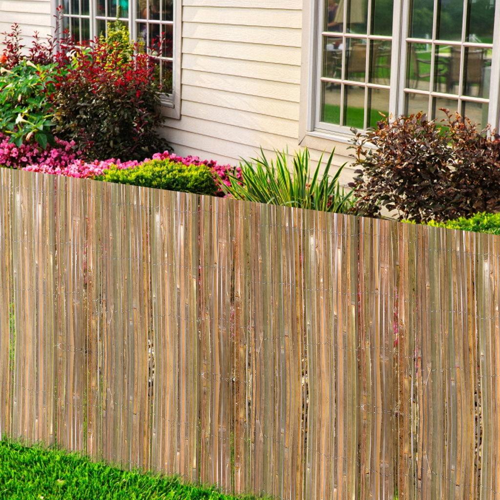 Recinzione bamboo soluzione economica per il giardino - Recinzione economica giardino ...